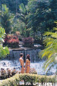 Romanic getaway Tabacon resort hotel Costa Rica
