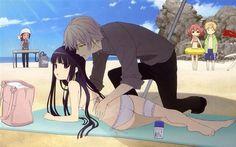 Anime:Inu x Boku ss//Soushi Miketsukami_Ririchiyo Shirakiin_Karuta Roromiya_Banri Watanuki_Renshou Sorinozuka.