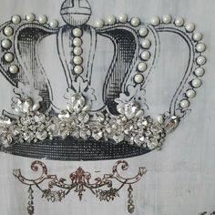 Updates van ShabbyvintagesStudio on Etsy Shabby Vintage, Vintage Lace, Make A Crown, Lace Crowns, Bridal Headdress, Lace Decor, Craft Shop, Shabby Chic Homes, Handmade Items