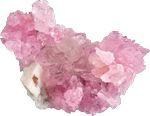 Quartz pinkΧαλαζίας ροζ αγάπη , ευτυχία, φιλία.