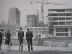 University of Essex campus under construction in 1966.