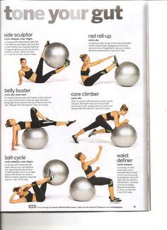 Tolle und effiziente Übungen für Gymnastikbälle wie diese: http://www.claptzu.de/functional-fitness/fitness-kleingeraete/gymnastikbaelle.html