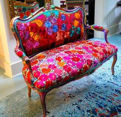 Bohemian furniture as a rule isn't found in a store. These rooms will in general be loaded up with furniture gathered after some time, so second-hand and… Bohemian Furniture, Funky Furniture, Unique Furniture, Shabby Chic Furniture, Furniture Makeover, Painted Furniture, Furniture Design, Furniture Stores, Furniture Ideas