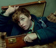Eddie Redmayne, star of Fantastic Beasts and Where to Find Them, offers a glimpse into J. K. Rowling's delightfully off-kilter universe. Add some sumptuous and finely wrought fashion, and you've got magic on your hands.