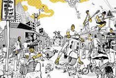 Bombay Duck Designs: Studio of Indian illustrator and visual artist, Sameer Kulavoor. Illustrator, Snoopy, Branding, Indian, Studio, Artist, Fictional Characters, Design, Brand Management