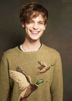 Matthew Gray Gubler.  Adorkable!  And he wears mismatched socks so I find him completely irresistible ^_^