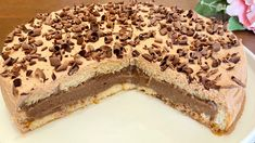 Non Bake Desserts, Dessert Recipes, Chocolate Flavors, Chocolate Recipes, Melt In Your Mouth, Non Stick Pan, Pie Dessert, Four, Tray Bakes