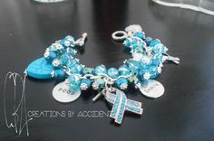 Poly cystic Ovarian Syndrome Awareness by CreationsbyAccident, $25.00