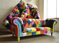 Awesome Patchwork Furniture Pics Design Ideas