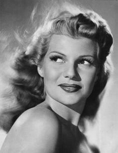 Rita Hayworth, my favorite actress from old Hollywood.