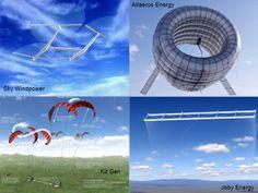 Eoliennes volantes : l'avenir de l'énergie est dans le ciel !