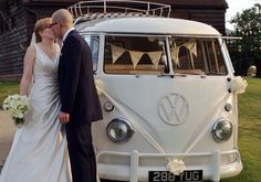 Campervan Wedding Hire - Pear Tree Weddings
