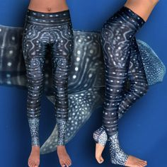High performance leggings with unique prints adapted from photographs and inspired by nature. Made from 10 recycled, post-consumer plastic bottles, UPF sun protection rating of 50+, 4-way stretch, quick drying and anti-microbial. Wide, comfortable waistband and fabric that supports you while you move. Designed for exploring, sailing, kiting, surfing, swimming, diving, running, yoga, traveling, lounging, workout classes and any other ways you can think of to move that bod of yours.