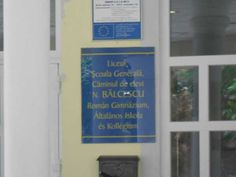 Intrare Liceul Nicolae Balcescu Gyula 2 Letter Board, Lettering, Rome, Drawing Letters, Brush Lettering