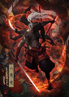 Oni Ox Demon Saigo Ijuin Master Chief