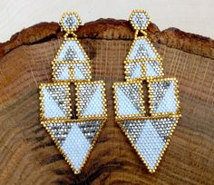 Modern+Chandelier+Earrings+by+wildmintjewelry+on+Etsy