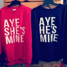Always wanted to wear one of these with a boyfriend. SO cute.