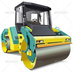 Double Roller #GraphicRiver Detailed vectorial image of yellow double roller, isolated on white background. File contains blends and gradients. No strokes. In ZIP -archive: .ai (CS3, CMYK ), .eps (8 version, CMYK ), .cdr (X3, grayscale), .jpeg (5000×5000 pixels, RGB ). Created: 27January12 GraphicsFilesIncluded: TransparentPNG #JPGImage #VectorEPS #AIIllustrator Layered: Yes MinimumAdobeCSVersion: CS Tags: asphalt #asphalt-placing #asphalt-spreading #black #bowl #compaction #compactor #dolly…