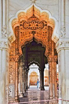 itsarthistory: Red Fort, Old Delhi, India