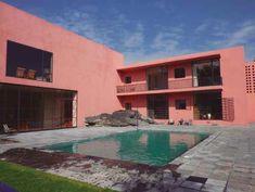 Alberca, Casa Eduardo Prieto López, av. de las Fuentes 180 Jardines del Pedregal, Ciudad de México 1951.