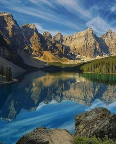 Moraine Lake Canada Photo by @rangerrikk check out his feed for more by awesome.earth