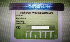 Atenção à Vinheta da inspecção do veículo! Mais uma  informação importante