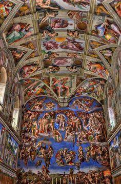 Interior de uma das capelas mais bem feitas do mundo