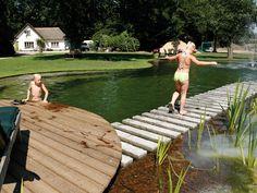 Zwemvijvers aangelegd door gardenSwimm