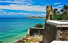 The San Carlos Borromeo Castle, built to protect part of the coasts of Pampatar bay, Margarita Island, built by British during the colony time in Venezuela Sierra Nevada, Merida, Us Travel, Places To Travel, West Indies, Travel Around The World, Tours, Vacation, Instagram