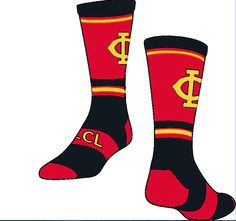 Twin City Jersey Custom crew socks are a perfect addition to any sports team. Choose you colors and design to match your team colors. Knee High Socks, Ankle Socks, Custom Socks, School Fundraisers, Team Uniforms, Twin Cities, Lycra Spandex, Crew Socks, Custom Clothes