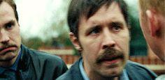 Paddy Considine and Rafe Spall in Hot Fuzz (2007) dir. Edgar Wright