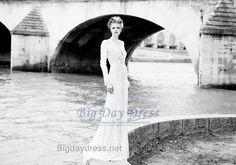BTB-2013-82 Bespoke Tailor Inspired by Berta Bridal 2013 Collection Wedding Dress 2013-82