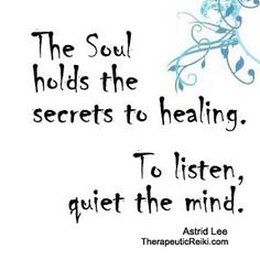 nourish the soul!!