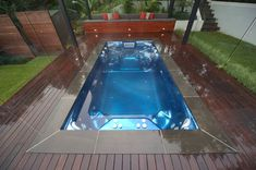 In - Ground Spas - EndlessSpa It's all about the finished look.... #spa #endlessSpa #groundspas #spapool #inground