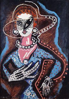 picabia (la femme au monocle)