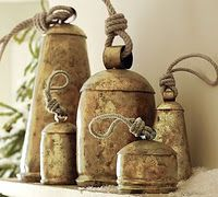 Old Bells ..I have them hanging on my front door..when I want the dog and cat to come in I just ring them and they come running .