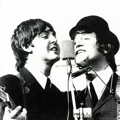 Asi nos gusta ver a John y a Paul - Taringa!
