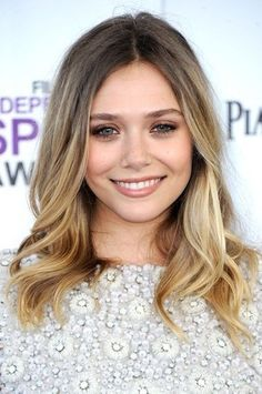 ombre shoulder length hair Elizabeth Olsen - The Beauty Thesis Love for fall/winter