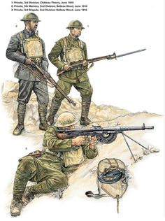 Who makes 15mm WWI american marines? [Archive] - Fanaticus Forum