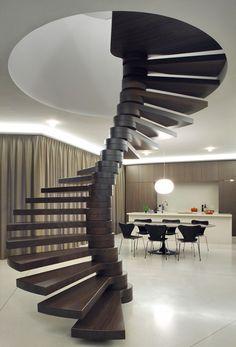 pinterest.com/fra411 #stairs - Villa Moerkensheide / Dieter De Vos Architecten