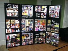Image detail for -Tri-fold Graduation Photo Board