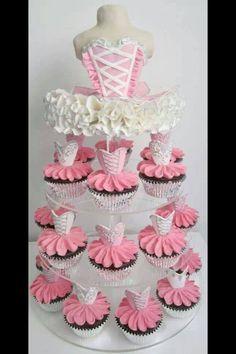 Ballet Cupcakes :)