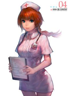 Nurse by Cushart.deviantart.com on @deviantART