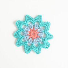 Annemarie's Haakblog: Free Flower Pattern