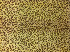 .Leopard Chenille...Accent Fabric for Family Room