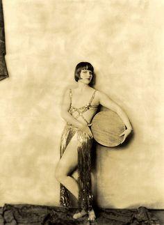 Ziegfeld Star - Louise Brooks - 1920s - by Alfred Cheney Johnston
