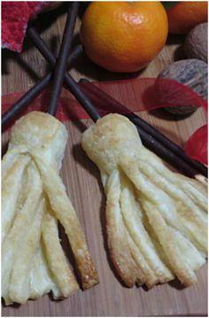 Scopette befana con pasta sfoglia ! #scopette #pastasfoglia #befana #ricettegustose
