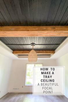 Shiplap Ceiling, Plank Ceiling, Tray Ceiling Bedroom, Colored Ceiling, Wood Beams, Ceiling Design, Room Kitchen, Dining Room, Wood On Ceiling Ideas
