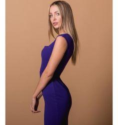 Mini Φόρεμα Κρεπ με Square neck - Βιολετί High Neck Dress, Purple, Black, Dresses, Fashion, Turtleneck Dress, Vestidos, Moda, Black People
