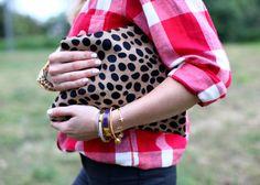 Pops of Leopard for Spring + Summer